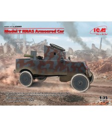 1:35 Брониран автомобил Модел T RNAS (100%нова отливка)
