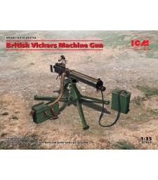 1:35 Британска картечница Vickers (100% нова отливка)
