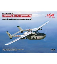 1:48 Американски разузнавателен самолет Cessna O-2A Skymaster, (100% нова отливка)