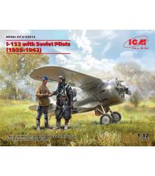 1:32 Самолет I-153 със Съветски пилоти (1939-1942)