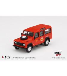 Land Rover Defender 110 UK Royal Mail Bus, Red