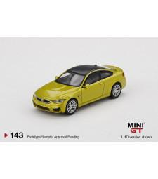 BMW M4 (F82) Austin, Yellow Metallic