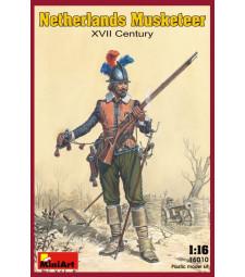 1:16 Нидерландски мускетар XVII век - 1 фигура