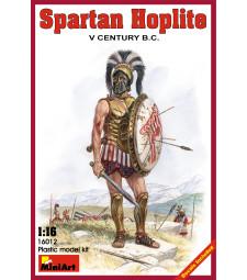 1:16 Спартански хоплит,  V век  пр. н.е.