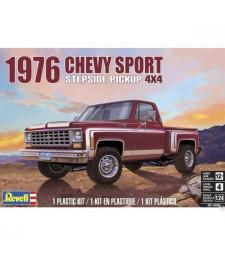 1:24 Автомобил 1976 Chevy Sports Stepside Pickup