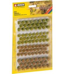 """Туфи трева """"Полски растения"""" 52 броя по 6 mm и 52 броя по 9 mm"""
