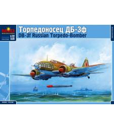 1:72 Съветски бомбардировач Илюшин ДБ-3Ф (Ilyushin DB-3F Russian Torpedo Bomber)