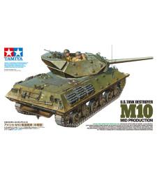1:35 Американски танков разрушител M10, средно производтсво - 2 фигури