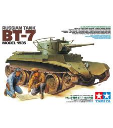 1:35 Руски танк BT-7 Модел 1935 - 2 фигури