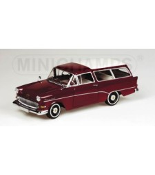OPEL REKORD P1 CARAVAN - 1958 - DARK RED