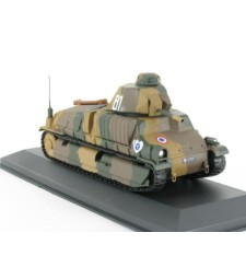 Somua S-35 1ere DLM Quesnoy (WWII Collection by EAGLEMOSS)