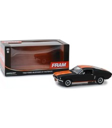 1968 Ford Mustang GT Fastback - FRAM Oil Filters - Black with Orange Stripes