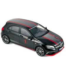 Mercedes-Benz A-Klasse Sport Equipment 2013 black with racing deco HQ