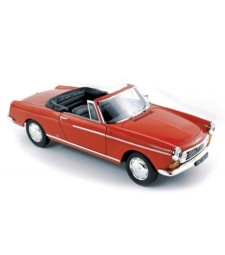PEUGEOT 404 Cabriolet 1967 Red