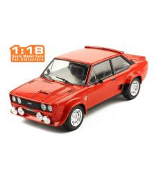 Fiat 131 Abarth, red, 1980