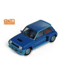 Renault 5 Turbo 1 1981 - Metallic-Blue