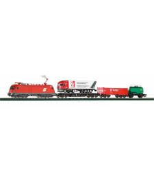 Стартов сет с локомотив Taurus и  3  вагона, OBB, епоха V