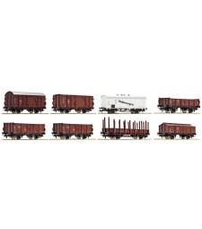Сет от 8 товарни вагона на DRG, епоха II