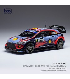 Hyundai i20 Coupe WRC, No.6, Rallye WM, Rallye Monza D.Sordo/C.Del Barrio, 2020