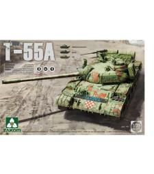 1:35 Руски среден танк T-55 A, 3 в 1 (Russian Medium Tank T-55 A, 3 in 1)
