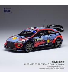 Hyundai i20 Coupe WRC, No.8, Rallye WM, Rallye Monza O.Tänak/M.Järveoja 2020