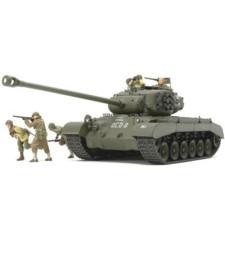 """1:35 Американски танк T26E4 """"Super Pershing"""" - 5 фигури"""