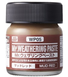 WP-05 Weathering Paste Mud Red (40ml)