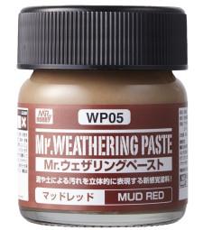 WP-05 Състаряваща паста: Червена кал (Weathering Paste Mud Red) (40ml)