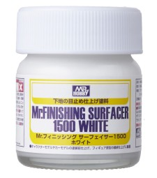 SF-291 Течен грунд Mr. Finishing Surfacer 1500 White - 40ml