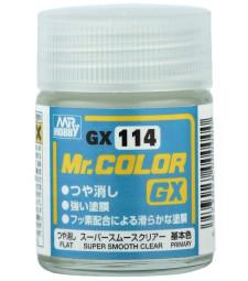 GX-114 Mr.Color GX Super Smooth Clear Flat (18ml)
