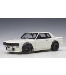 NISSAN SKYLINE GT-R (KPGC-10) RACING 1972 (WHITE)
