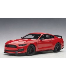 Ford Mustang Shelby GT350R (race red w/white st.) (composite model/full openings)