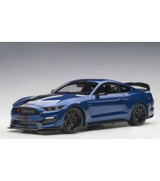 Ford Mustang Shelby GT350R (lightning blue  w/black st.) (composite model/full openings)