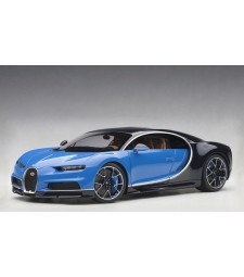 BUGATTI CHIRON (FRENCH RACING BLUE / ATLANTIC BLUE)