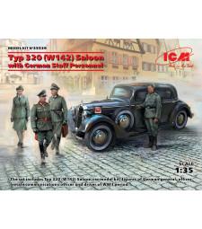 1:35 Седан Тип 320 (W142) с немски персонал