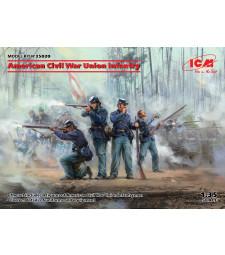 1:35 Американски пехотинци от Съюза (Севера), Американска гражданска война