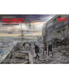 1:35 Чернобил #3. Почистване на развалините (5 фигури)