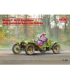 1:24 Спортен автомобил Модел T 1913 Speedster с 2 фигури