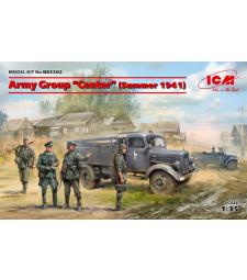 "1:35 Военна група ""Center"" (лято 1941) (Kfz.1, Тип L3000S, германски пехотинци (4 фигури), германски шофьори (4 фигури))"