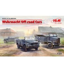 1:35 Автомобили на Wehrmacht за труднодостъпни пътища (Kfz.1, Horch 108 Тип 40, L1500A)