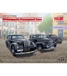 1:35 Лични автомобили на Wehrmacht (Седан Кадет K38, Седан Капитан, Седан Адмирал)