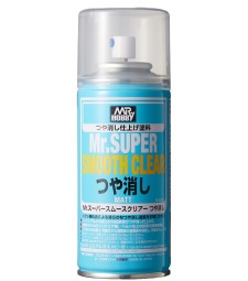 B-530 Спрей-грунд Mr.SUPER SMOOTH CLEAR (170ml)