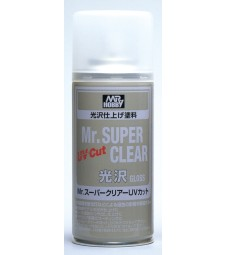 B-522 Лак на спрей Mr. Super Clear UV Cut Gloss Spray (170 ml)