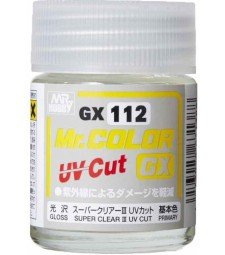 GX-112 Mr. Color GX Super Clear III UV Cut Gloss (18ml)