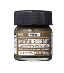 WP-01 Състаряваща паста: Кафява кал (Weathering Paste Mud Brown) (40ml)