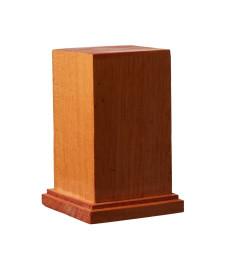 DB-004 Квадратна дървена основа за моде L 60 x 60 x H90 mm / постамент 49 x 49 mm