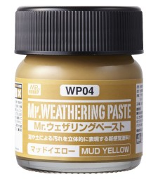 WP-04 Weathering Paste Mud Yellow (40ml)