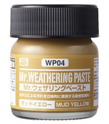 WP-04 Състаряваща паста: Жълта кал (Weathering Paste Mud Yellow) (40ml)