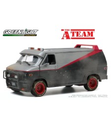 The A-Team (1983-87 TV Series) - 1983 GMC Vandura (Weathered Version with Bullet Holes)