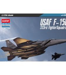 """1:72 Американски изтребител USAF F-15E """"333rd FIGHTER SQ"""" MODEL"""